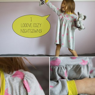 Tutorial: Two T-Shirt Nightgown