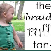 Braided Ruffle Tank
