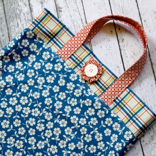 Featured: Fat Quarter Tote Tutorial