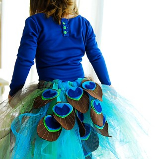 Featured: DIY Peacock Costume Tutorial