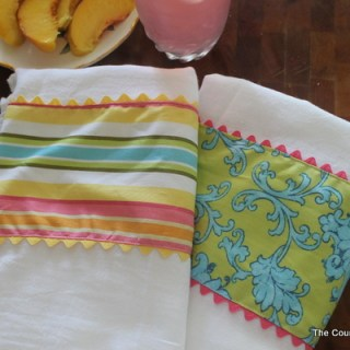 Featured: Dressed Up Kitchen Towels