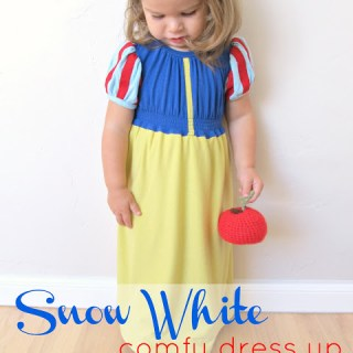 snow white comfy dress up