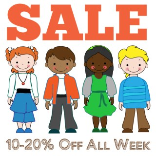 Celebrating KCW with a SALE all week long!