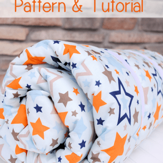 Featured: Kids Sleeping Bag Tutorial