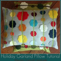 garland pillow