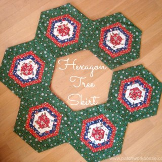 Featured: Hexagon Tree Skirt Tutorial