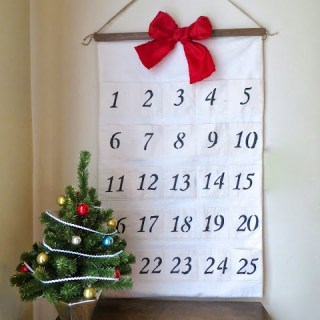 Featured: Muslin Advent Calendar Tutorial