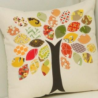 Featured: Scrap Buster Fall Pillow Tutorial