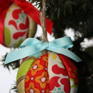 Featured: Fabric Ornament Tutorial