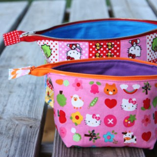 Featured: Open Wide Zippered Pouch