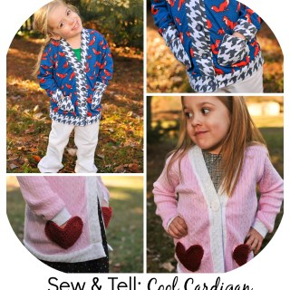 Sew & Tell: The Cool Cardigan