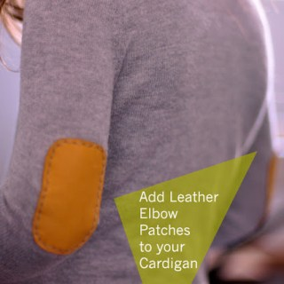Featured: Leather Elbow Patch Tutorial