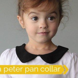 Featured: Peter Pan Collar Tutorial