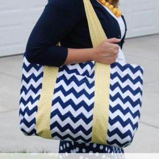 Featured: Jumbo Bag Tutorial