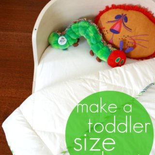 Toddler Duvet Tutorial