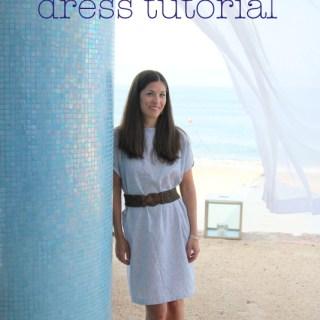 Seaside Stripes Dress Tutorial