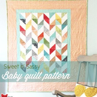 Sweet-n-Sassy Baby Quilt Tutorial