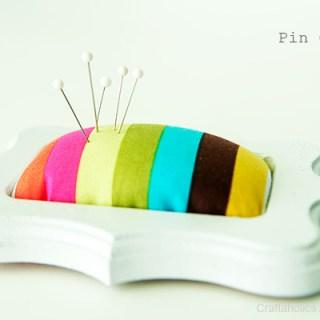 Framed Pincushion Tutorial