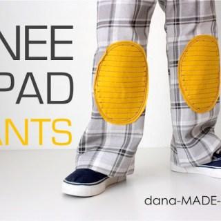 Kids Knee Pad Pants Tutorial