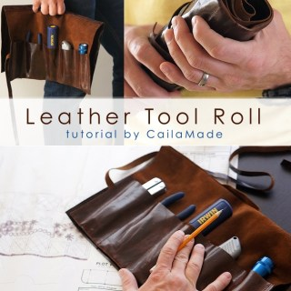 Leather Tool Roll Tutorial