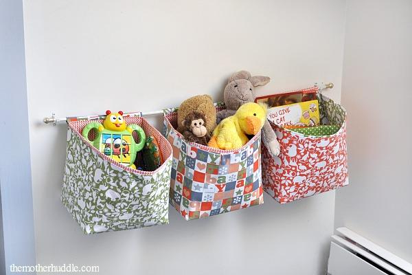Hanging Fabric Baskets 2