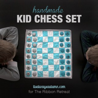 Handmade Kids Chess Set Tutorial