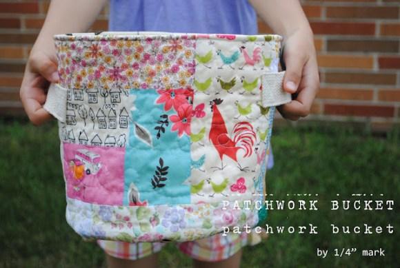 patchwork bucket