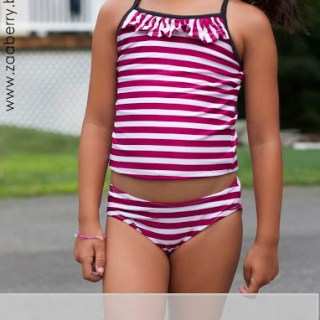 Girls 2 Piece Swimsuit Tutorial