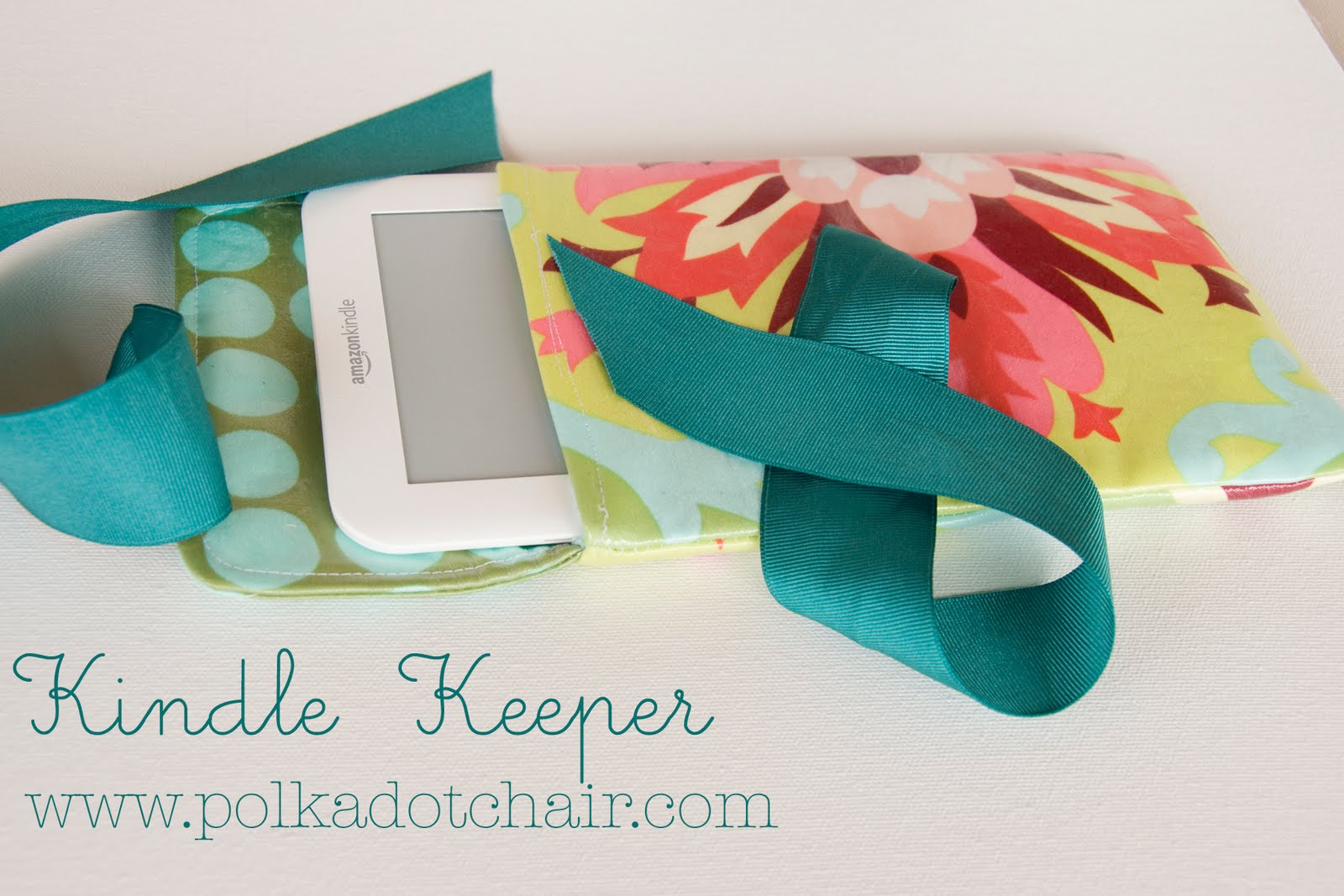 Make a cute tablet carrier!