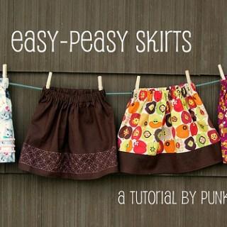 Easy Peasy Skirt Tutorial