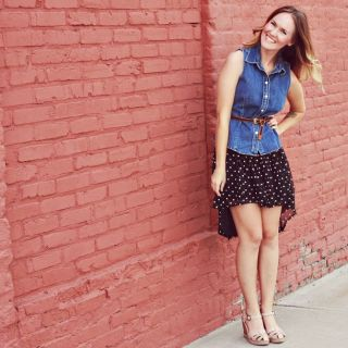 High/Low Skirt Tutorial