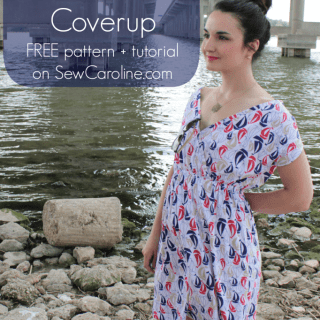 Boat Club Dress & Coverup Tutorial