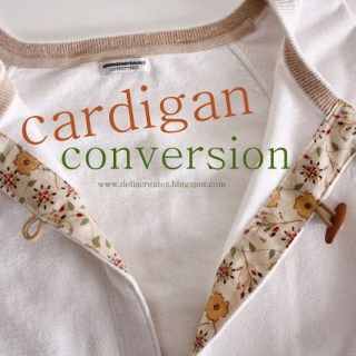 Cardigan Conversion Tutorial
