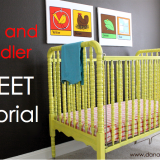 Crib & Toddler Sheet Tutorial