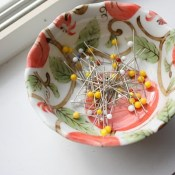 magnetic pin dish how-to