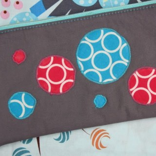 Bubble Zipper Pouch