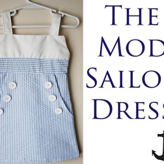 Mod Sailor Dress Tutorial