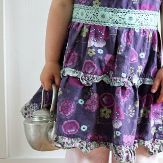 Toddler Apron from Dress Tutorial
