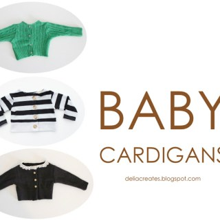 Baby Cardigan Tutorial