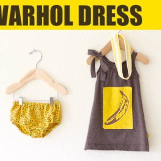 Warhol Dress Tutorial
