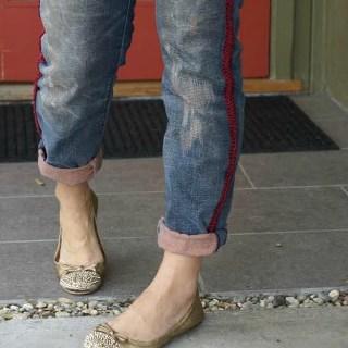 Boyfriend Jeans Refashion Tutorial