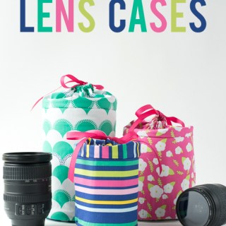 Padded Camera Lens Case Tutorial