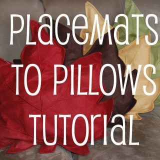 Fall Leaf Pillow Tutorial