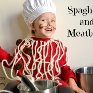 Spaghetti & Meatballs Costume Tutorial