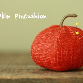 Pumpkin Pincushion Tutorial