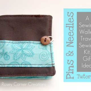 Sewing Wallet Tutorial