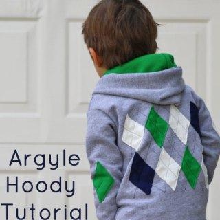 Argyle Hoodie Tutorial