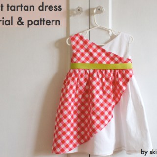 Sweet Tartan Dress Tutorial