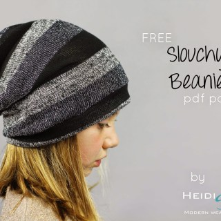 Slouchy Kids Beanie Tutorial