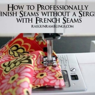 Create a Professional Finish with French Seams